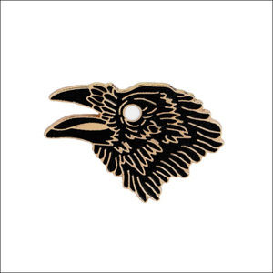 Jewelry - *COMING SOON* Wise Raven Lapel Pin